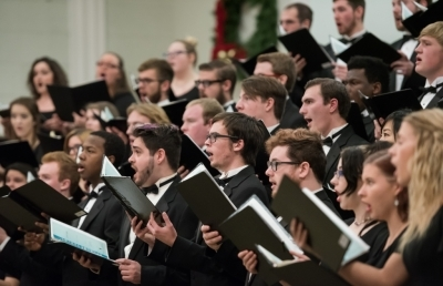 Fall Choral Concert Presents Three Vocal Ensembles on Oct. 14