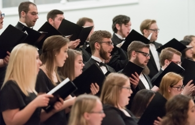 Choral Concert Repertoire Includes Biblical Dramas, Art and Folk Songs