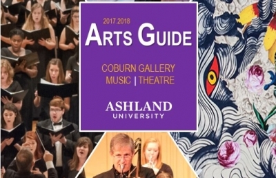 2017-2018 Ashland University Arts Guide Available