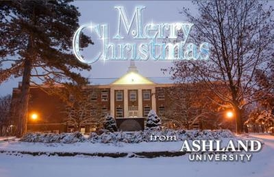 Ashland University Posts 2015 Electronic Christmas Card