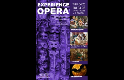 Fairy Tales, Comedy & Tragedy at AU's 2019 Opera Scenes
