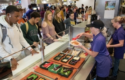 Ashland University's Food Service Receives Top Ranking
