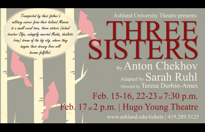 AU Theatre Travels to Russia in the Year of 1850 for Chekhov's 'Three Sisters'
