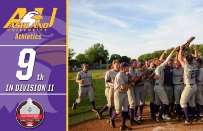 Ashland Finishes Ninth In D-II Directors' Cup Standings
