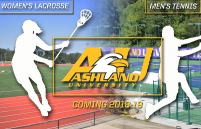Ashland University Women's Lacrosse, Men's Tennis To Debut In 2018-19