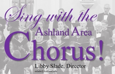 Ashland Area Chorus Invites Singers to Rehearsals Beginning Aug. 27