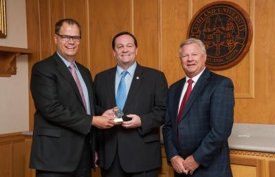 Representative Dave Hall Presented with Friend of Independent Higher Education Award