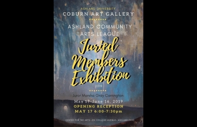 Ashland University Coburn Gallery Sends Out Call for Artists