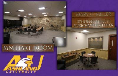 Ashland University to Dedicate Rinehart Room and Miller Center on Sept. 5