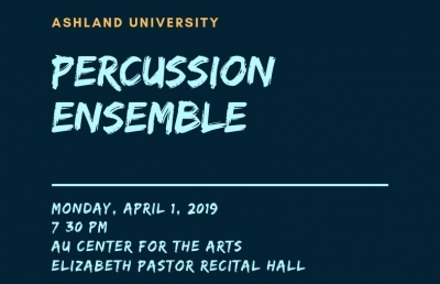 AU Percussion Studio Performs on April Fool's Day