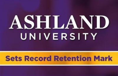 Ashland University Sets Record Retention Mark