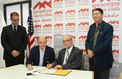 Ashland University Officials Sign Academic Collaboration with University of Haifa Officials