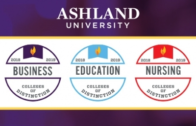 National Acclaim Granted to Ashland University's Professional Programming