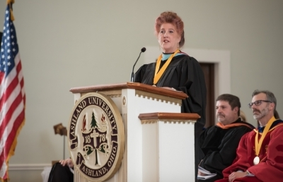 Ashland University Honors Faculty Member with Taylor Teaching Award