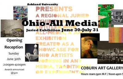 Ashland University Coburn Gallery Exhibition to Open June 30