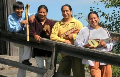 Andes Manta Brings Native Music from South American Andes to Ashland