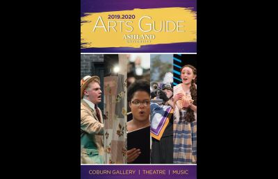 2019-2020 Ashland University Arts Guide Now Available
