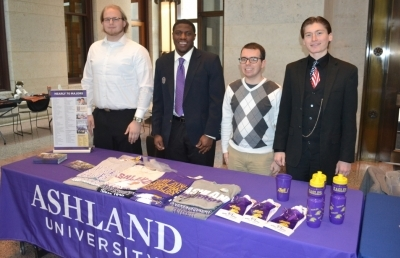 AU Students Participate in Independent College Day at the Statehouse