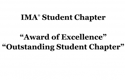 Ashland University Student Chapter Earns Award