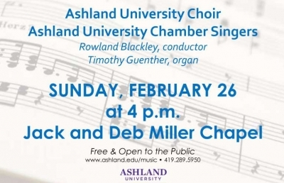 Winter Choral Concert Previews Music for Germany Tour