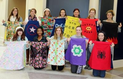 Ashland University Fashion Merchandising Students Design 'Capes for Kids'