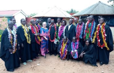 AU Professor Speaks at Kenyan Seminary's Graduation