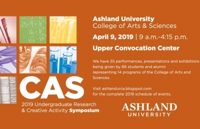 AU to Hold 2019 Undergraduate Research and Creative Activity Symposium on April 9