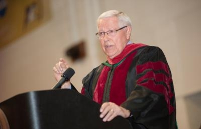 Professor Emeritus Gives Advice to Ashland University Graduates