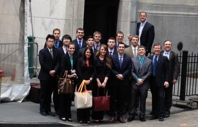 Eagle Investment Group Takes Trip to New York City