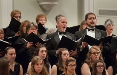 Fall Choral Concert Presents Three Vocal Ensembles on Oct. 29