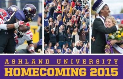 Ashland University Slates 2015 Homecoming Festivities