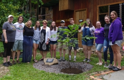 Ashland University Celebrates 10 Years of Collaboration with Tree Planting in Costa Rica