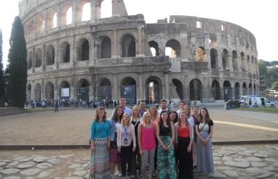 Ashland University Honors Program Students Experience Italy