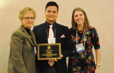 Ashland University Administrator Receives Awards at Association Meeting
