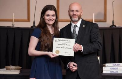 Ashland University Student Wins National Graduate Fellowship