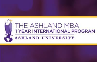 Ashland University Establishes One-Year International MBA Program