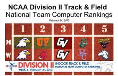 AU Track & Field Teams Ranked First In D-II Together For First Time
