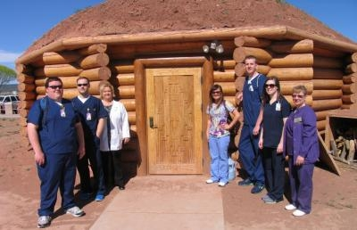 AU Nursing Students Immersed In the Culture at Navajo Reservation
