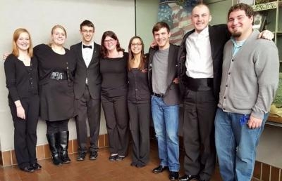 AU Concert Band and Jazz Orchestra Musicians Selected for OPCICA Honors