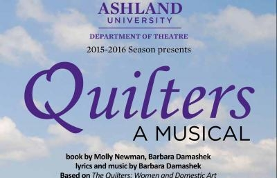 "The Musical ""Quilters"" Opens Ashland University Theatre Season"