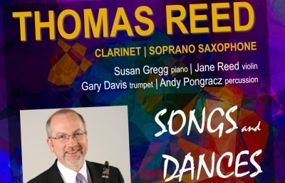 Reed Performs Concert of Songs and Dances on Nov. 5