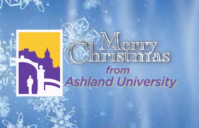 Ashland University Offices Closed for Christmas Holiday Break