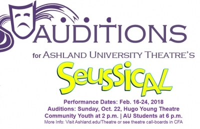 AU Theatre Announces Open Youth Auditions for 'Seussical'