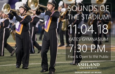 Sounds of the Stadium Concert at AU on Nov. 4