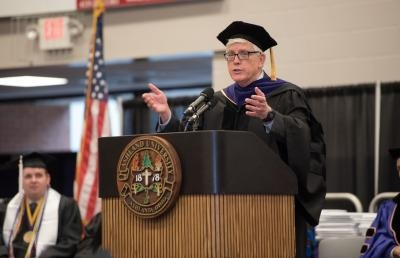 Commencement Speaker Challenges AU Graduates
