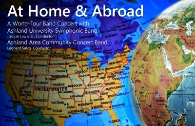 AU's Spring Band Concert Takes a Musical Journey at Home and Abroad