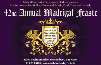 Tickets Still Available for 42nd Annual Madrigal Feaste
