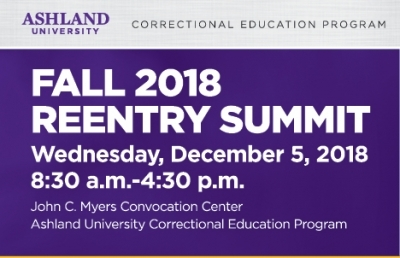 Ashland University Hosts Re-Entry Summit in Ashland