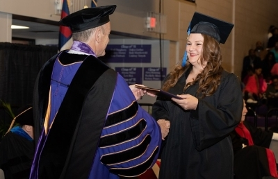 Graduate Flies from Louisiana to Ohio to Attend Winter Commencement Ceremony