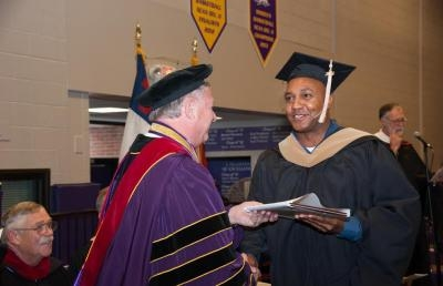 Former U.S. Marine Graduates with MBA from Ashland University
